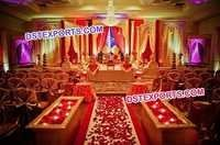 Wedding Stage Wooden Mehraap Backdrop Panel