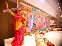 PUNJABI WEDDING SANGEET STAGE SET