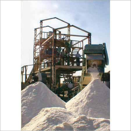 Free Flow Salt Refinery