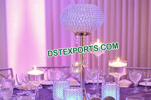 Wedding Crystal Ball Center Piece