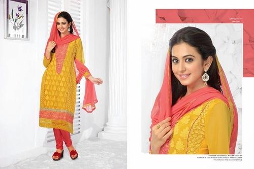 Yellow Designer Salwar Suit