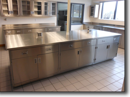 Stainless Steel 304 Lab Furniture