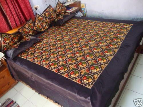 Phulkari Handwork Bedshhet