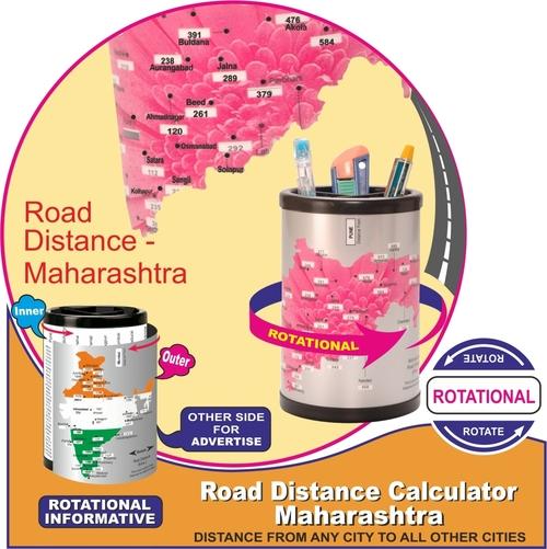 Road Distance Calculator Maharashtra