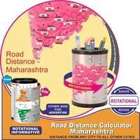 Road Distance Calculator Maharashtra