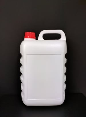 5 Ltr Ribbed Container