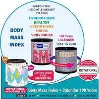 BMI + 100 years calendar