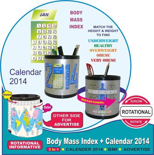BMI + 2014 calendar