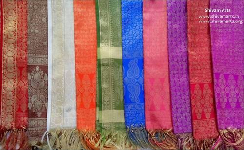 Royal Jari Silk Scarves