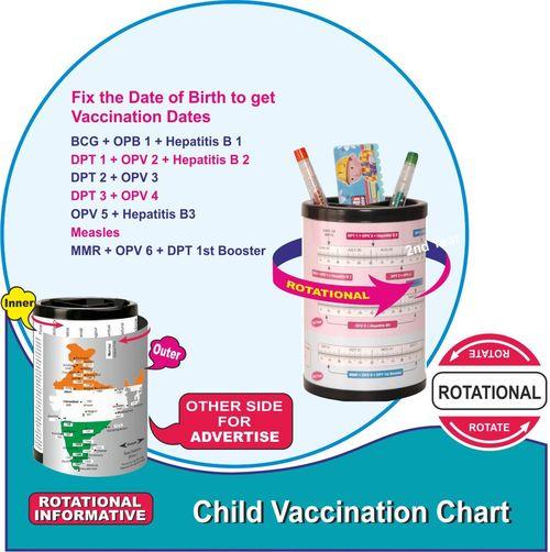 Child Vaccination Chart
