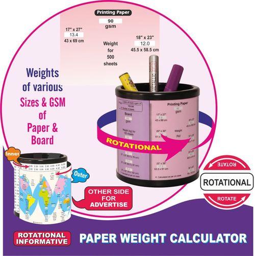 Paper Weight Calculator