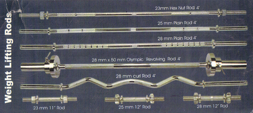Weight Lifting Rods