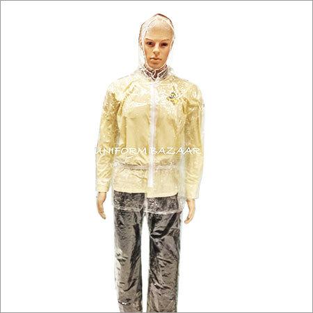 Transperant Rain coat