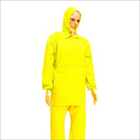Rain coat in Yellow Colour