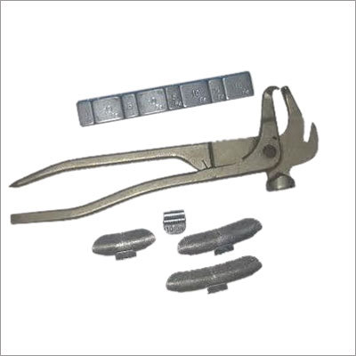 Wheel Weight Hammer & Wheel Weights