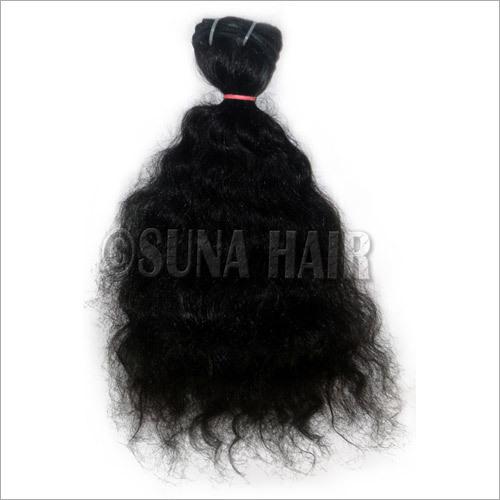 Peruvian Weft 100% Hair Virgin Silky Curly Hair Extension