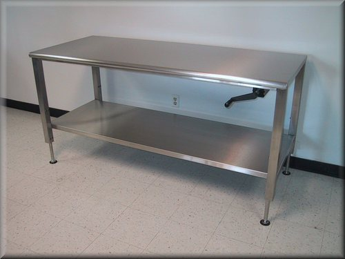 Stainless Steel Adjustable Bench