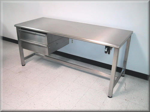 Stainless Steel 304 Lab Wall Bench