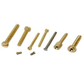 Brass Hex Screws