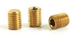 Brass Threaded Stud