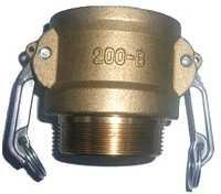 Brass Cam Groove Coupling