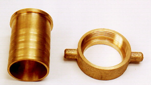 Brass Hose Barb With Nipple