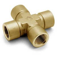 Brass Threaded Cross Fittings