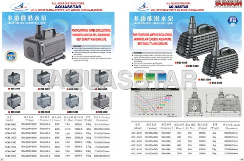 HQB SUBMERSIBLE PUMP
