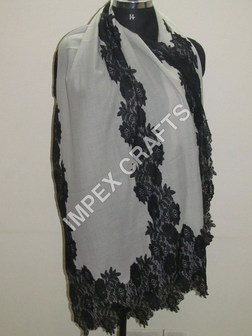 Fancy Cashmere Stole