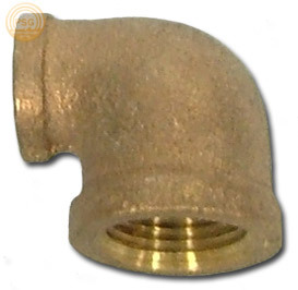 Brass 90 Degree Reducing