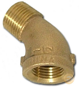 Brass 45 Degree Street Elbow