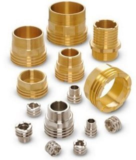 Brass Nickel Plated PPR Inserts