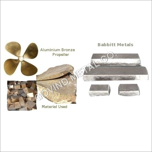 Aluminum Bronze Propellers and White Metal