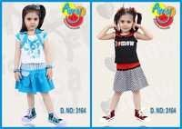 TODDLER BABY TOP & SKIRT SET