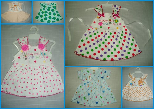 Baby Girl Frocks Dresses - 100% COTTON