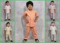 TODDLER BOYS NIGHT SET - 100% COTTON