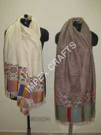 Pashmina With Kani Border