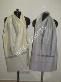 Pashmina With Cutwork Handmade