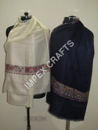 Pashmina With Paper Mache Work
