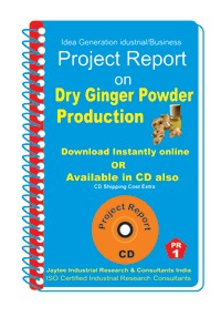 Project Report On Dry Ginger Powder (ebook)