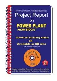 Project Report On Power Plant From Biogas