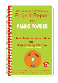 Project Report on Mango Powder Starch