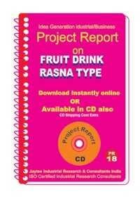 Project Report On Fruit Drink Rasna Type