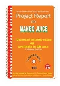 Project Report on Mango Juice