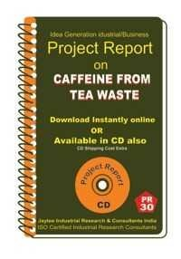 Project Report On Caffeine From Tea Waste