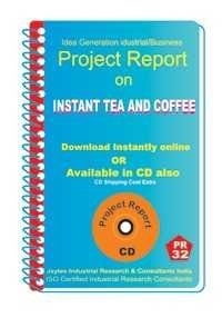 Project Report On Instant Tea And Coffee