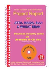 Project Report on Atta,Maida,Suji,Wheat Bran Mill