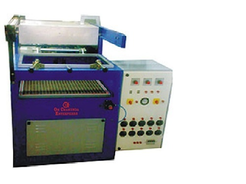Semi Auto Vacuum Forming Machine
