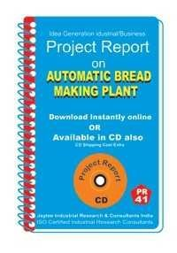Project Report On Automatic Bread Making Plant