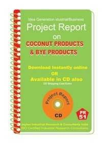 Project Report On Coconut Products & Bye Products